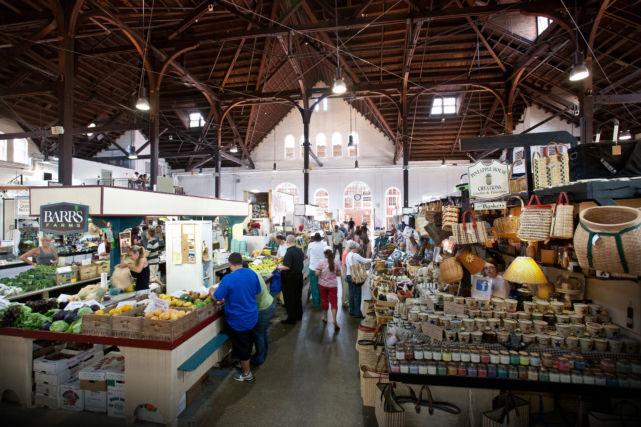 Interior Historic Lancaster Central Market