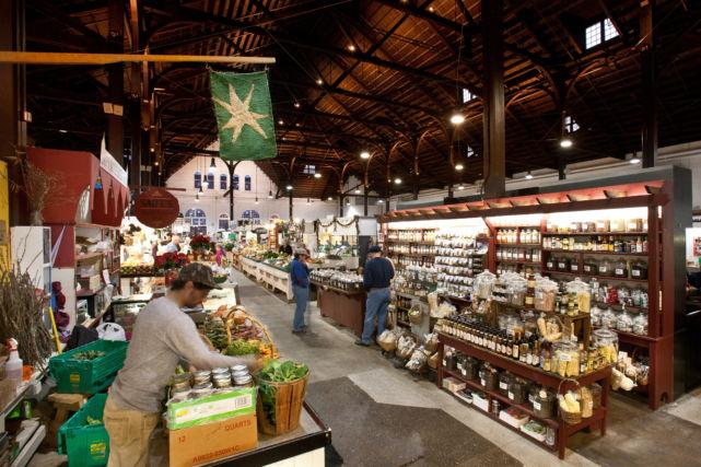 Lancaster Farmers Market Vendor Area