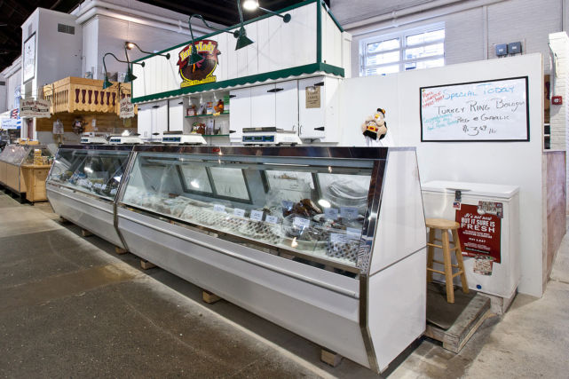 Renovated Lancaster Central Market Farm Stand