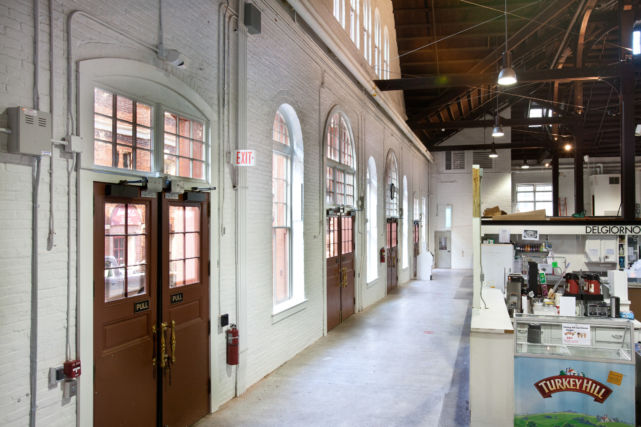 Interior of Lancaster Central Market