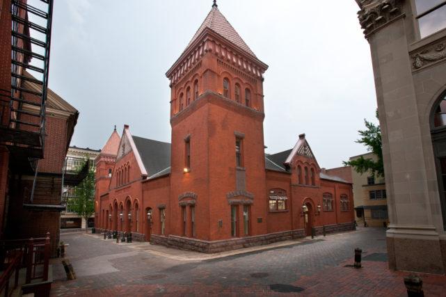 Exterior Renovations to Historic Brick Building
