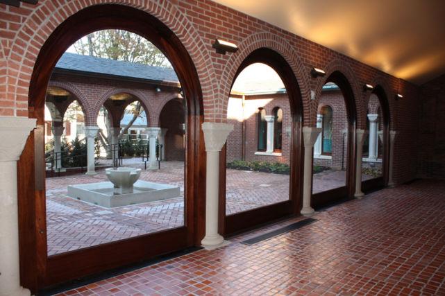 Historic Church Courtyard Addition