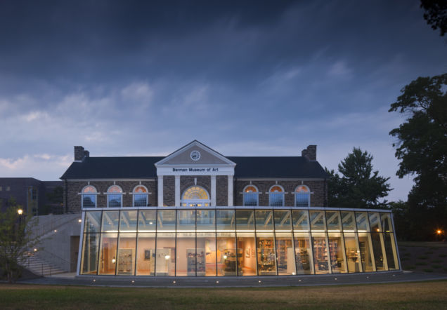 Ursinus College Berman Museum at Dusk