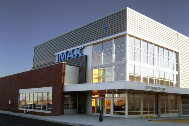 Penn Cinema Imax Theater daytime