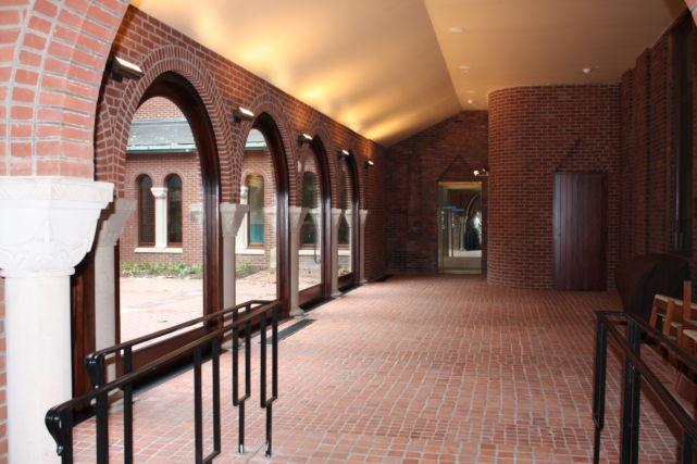 Historic Church Expansion Walkway