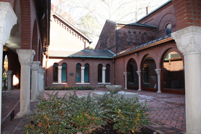 St. James Episcopal Church Courtyard Renovation