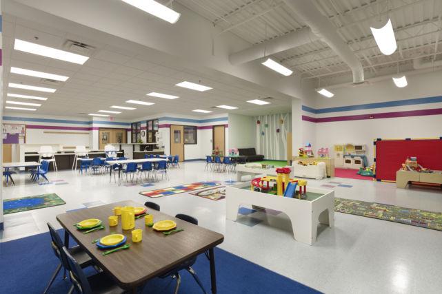 kennett square ymca childcare room