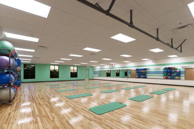 Renovated YBMCA Fitness Center