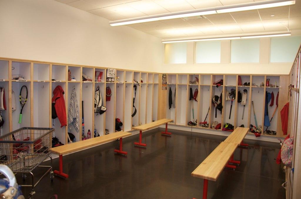 St andrews gym locker room warfel