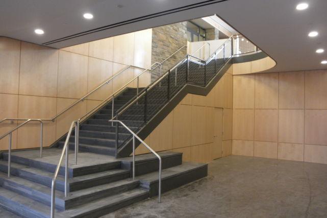 St Andrews Gym stairway