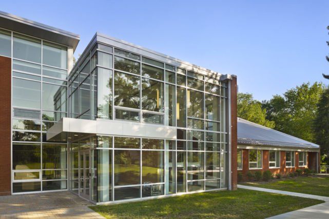 Westtown School Science Building Glass Wall