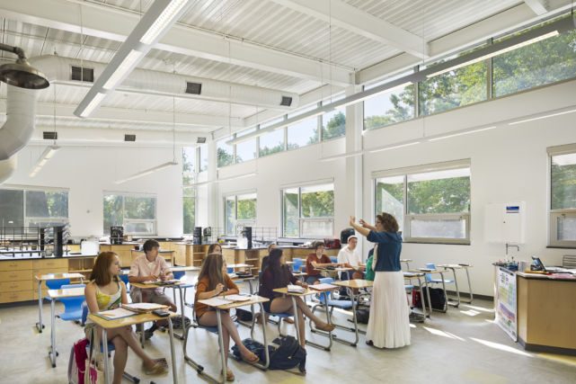 Westtown School Science Building Classroom