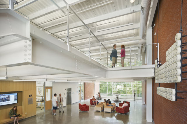 Westtown School Science Building Mezzanine