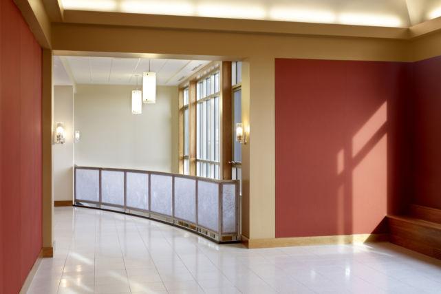 Malvern Prep Performing Arts Center walkway