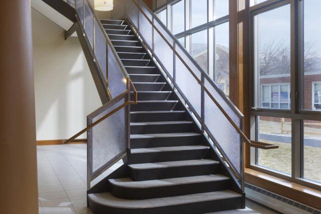 Malvern Prep Performing Arts Center stairwell