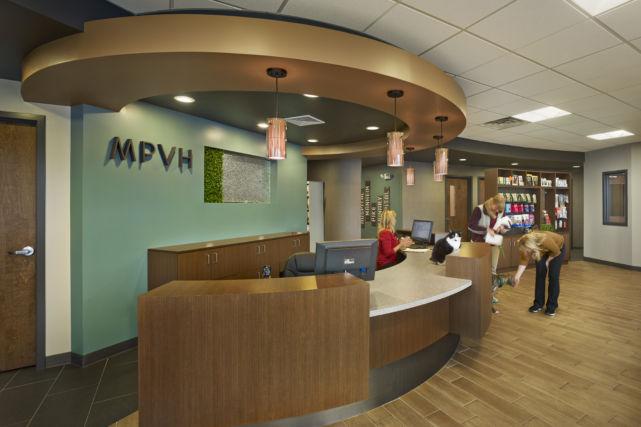 Veterinary Hospital Lobby