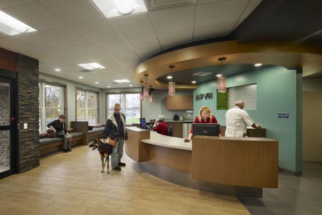 New Veterinary Hospital Lobby