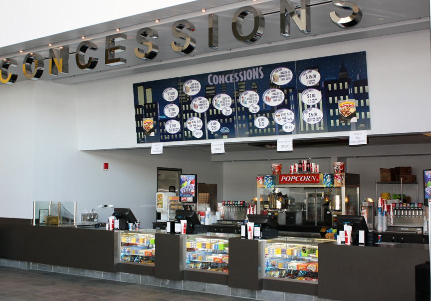 Penn Cinema Theater Concessions
