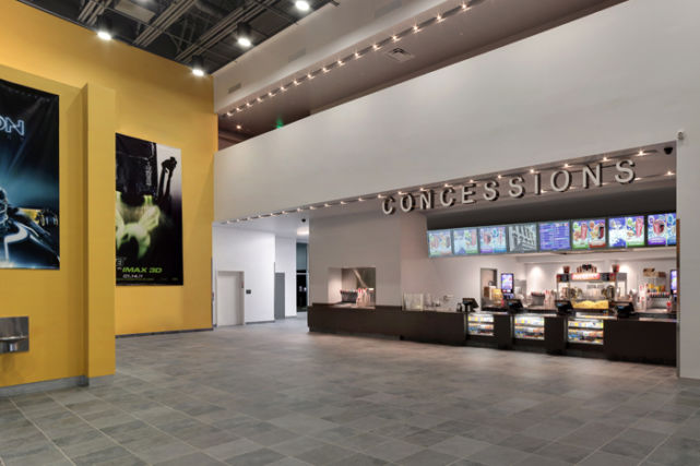 Penn Cinema Imax Theater Lobby and Concessions