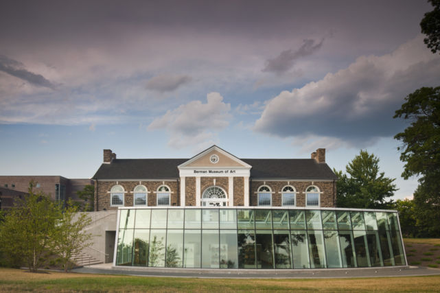 Ursinus College Berman Museum exterior in day