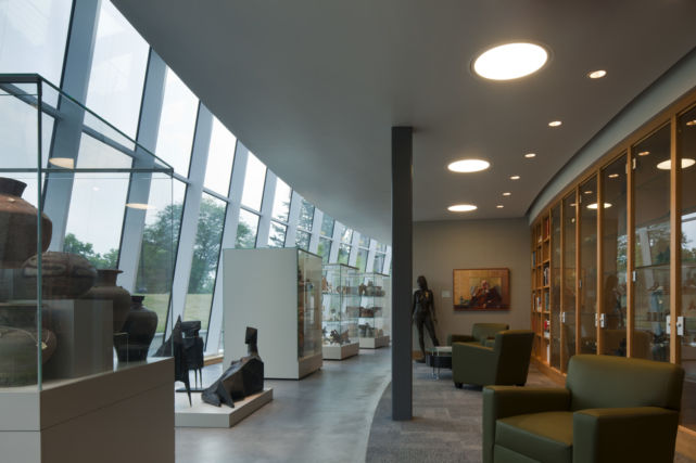Ursinus College Berman Museum Glass Atrium