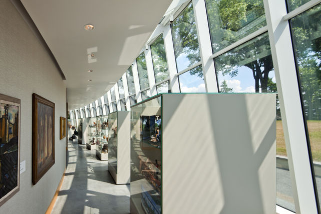Ursinus College Museum Atrium and Art
