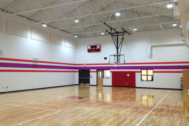 New Basketball Gymnasium at the YMCA