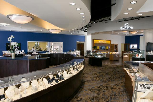 New Construction Jewelry Store Showroom