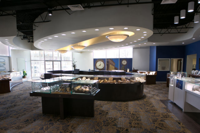 Inside Brent L. Miller New Jewelry Store