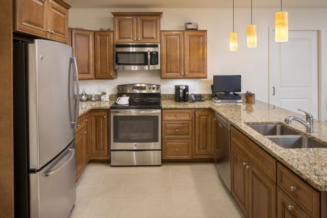Retirement Community Apartment Kitchen