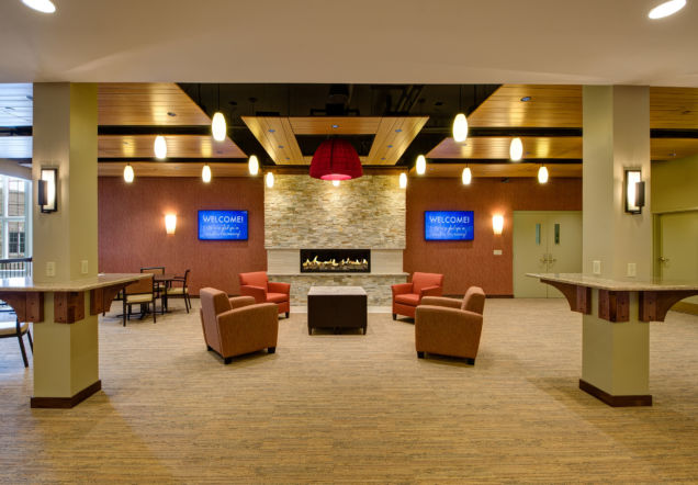 Calvary Church Renovated Lobby