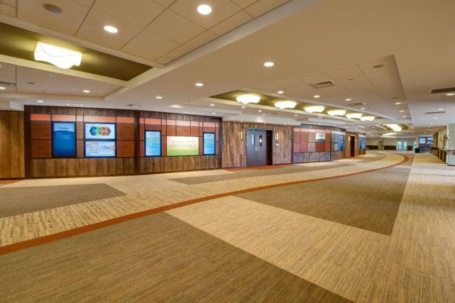Calvary Church Lobby and Foyer Area