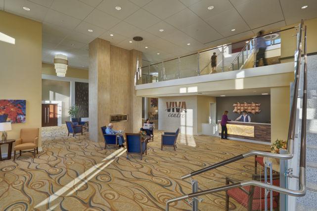 VIVA Wellness Center lobby