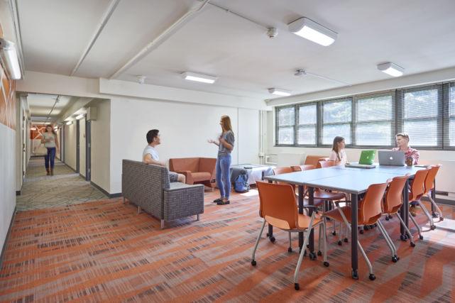 F&M College Dorm Common Area