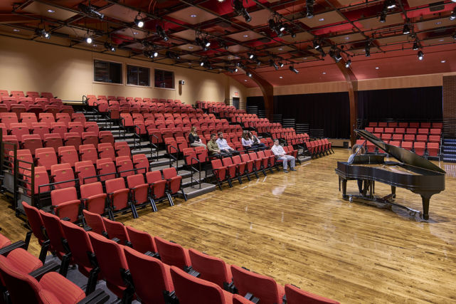 Baldwin School Renovated Theater and Seating