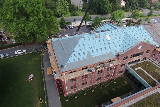 F&M College New Dorm Roof