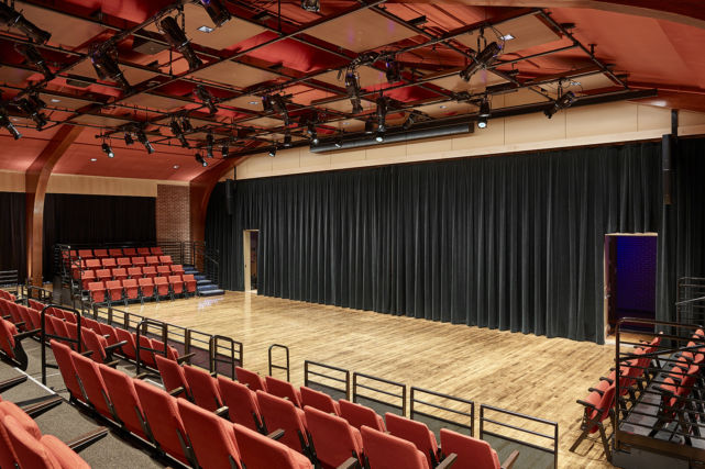 Baldwin School performance hall
