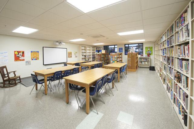 St. Leo the Great Catholic School classroom