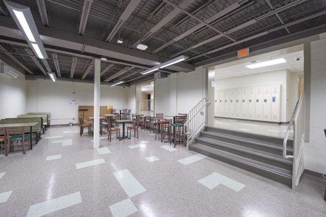 St. Leo the Great Catholic School locker room