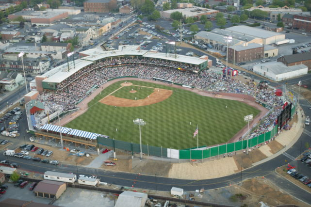 Lancaster Clipper Stadium and field