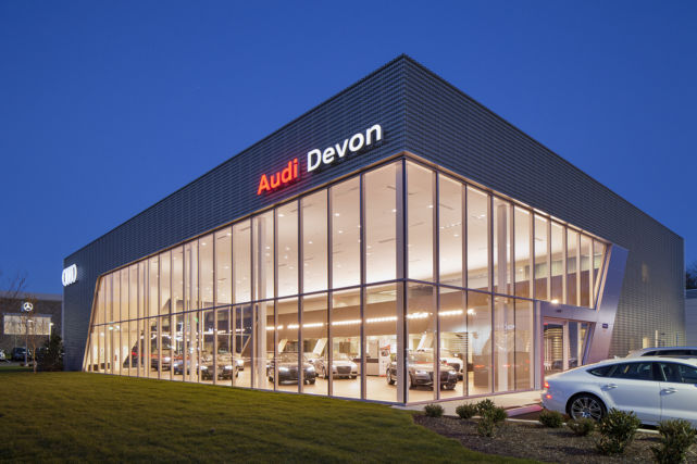 Audi Dealership New Construction