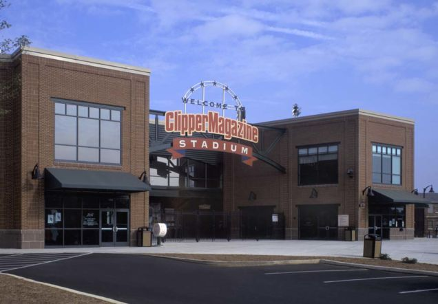 Clipper Stadium Entrance