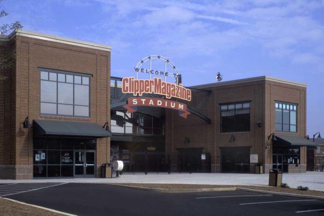 Clipper Stadium Entrance