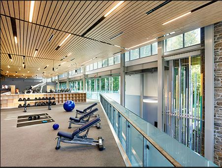 Cabrini University Fitness Area