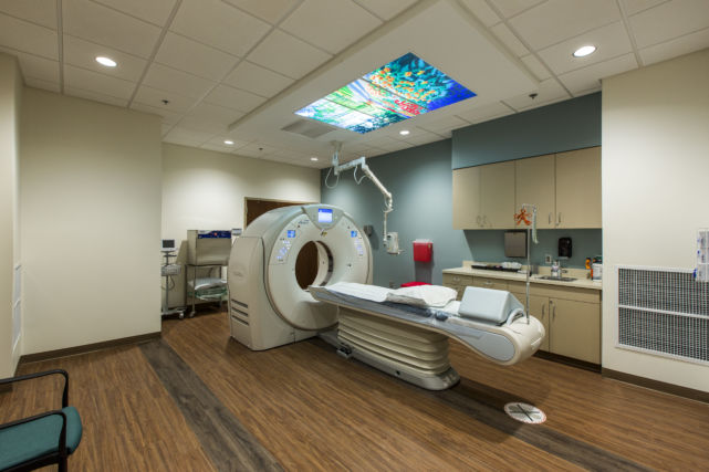 North Cornwall Medical Center CT scan