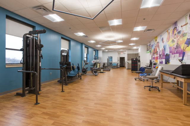 North Cornwall Medical Center Gym