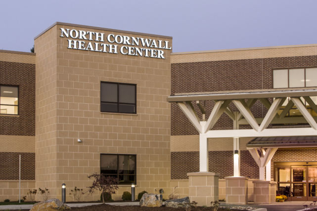 North Cornwell Health Center Exterior