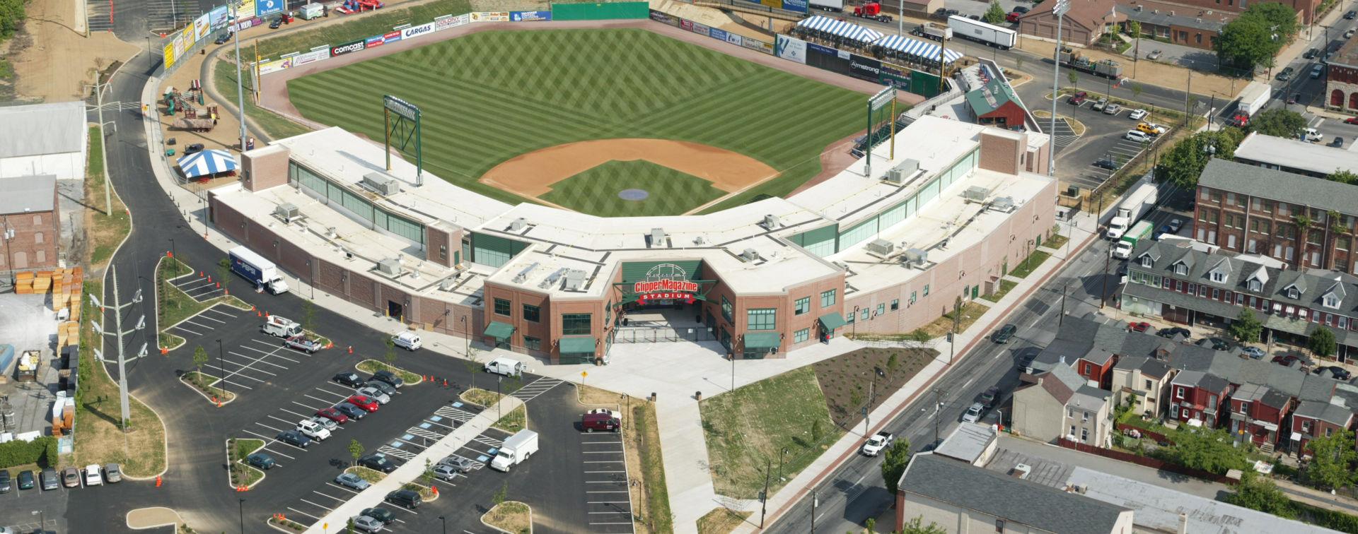 Lancaster Clipper Stadium Aerial View