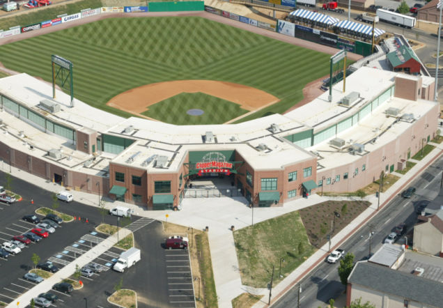 Lancaster Clipper Stadium Aerial View