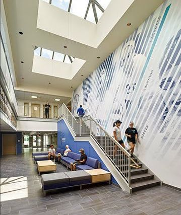 Cabrini University Project Lobby Renovation